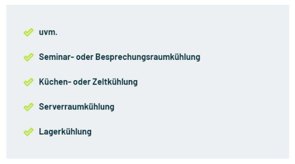 Seminarraum Klimaanlagen für  Deutschland