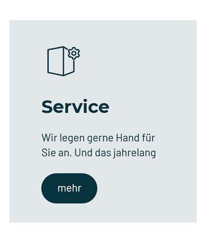 Service Reparatur Wartung